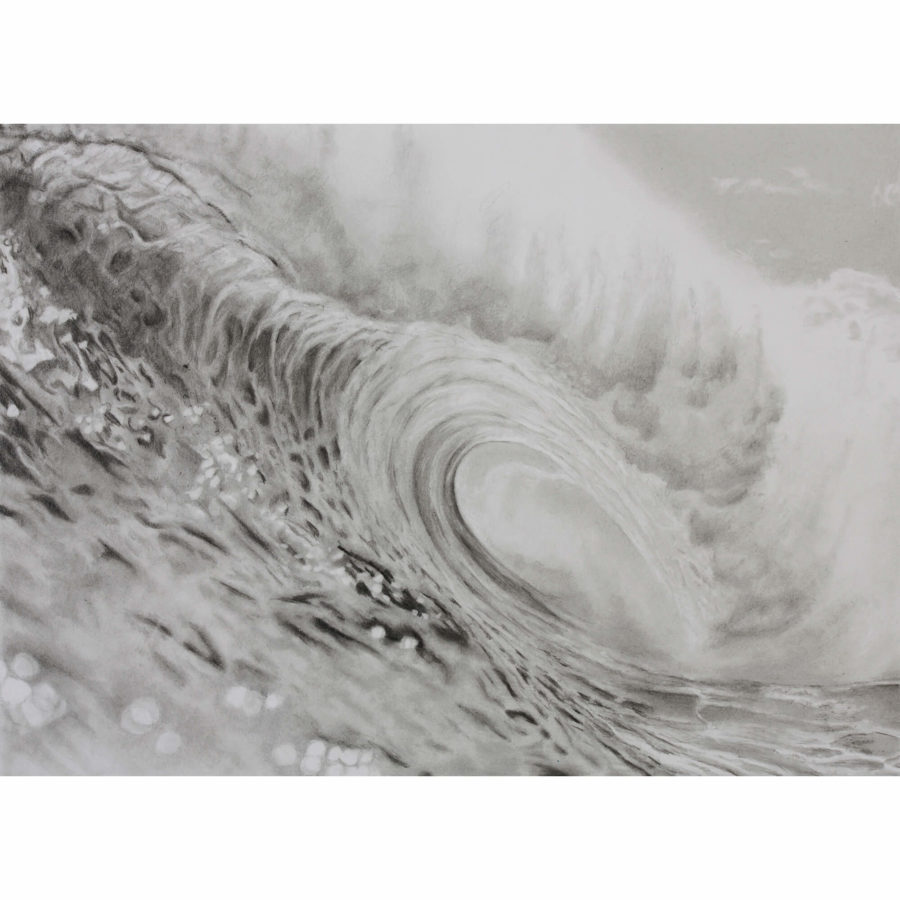 Perfect right hand tube, wave